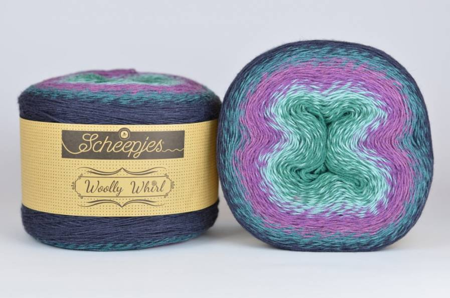 copy of Wooly Whirl - 471 Chocolate Vermicelli 1000m