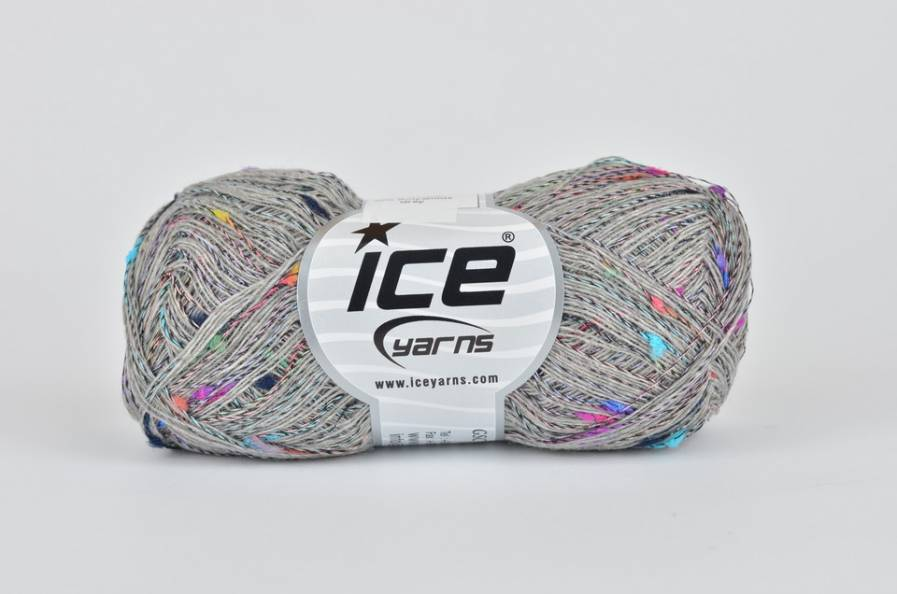 copy of Mohair Wool Blend - white rainbow (544492)