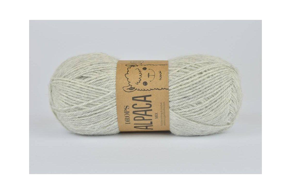 DROPS Alpaca - 9020 perłowo-szary jasny