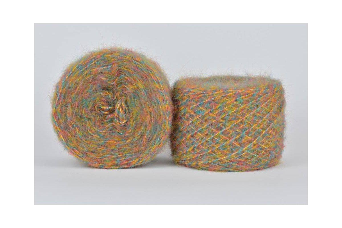 Liloppi Hippie - 1123  żółty/malinowy/turkusowy