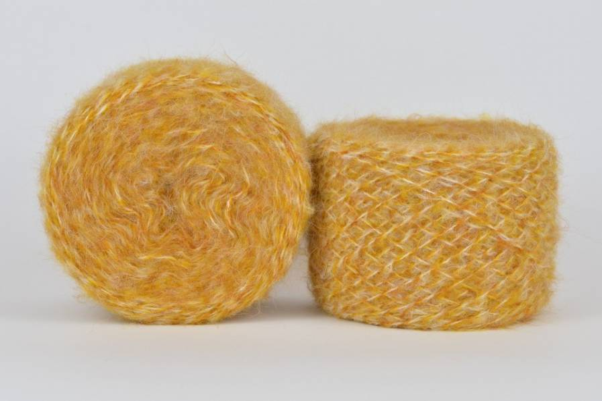 Liloppi Hippie - 1116  miodowy/żółty/kremowy