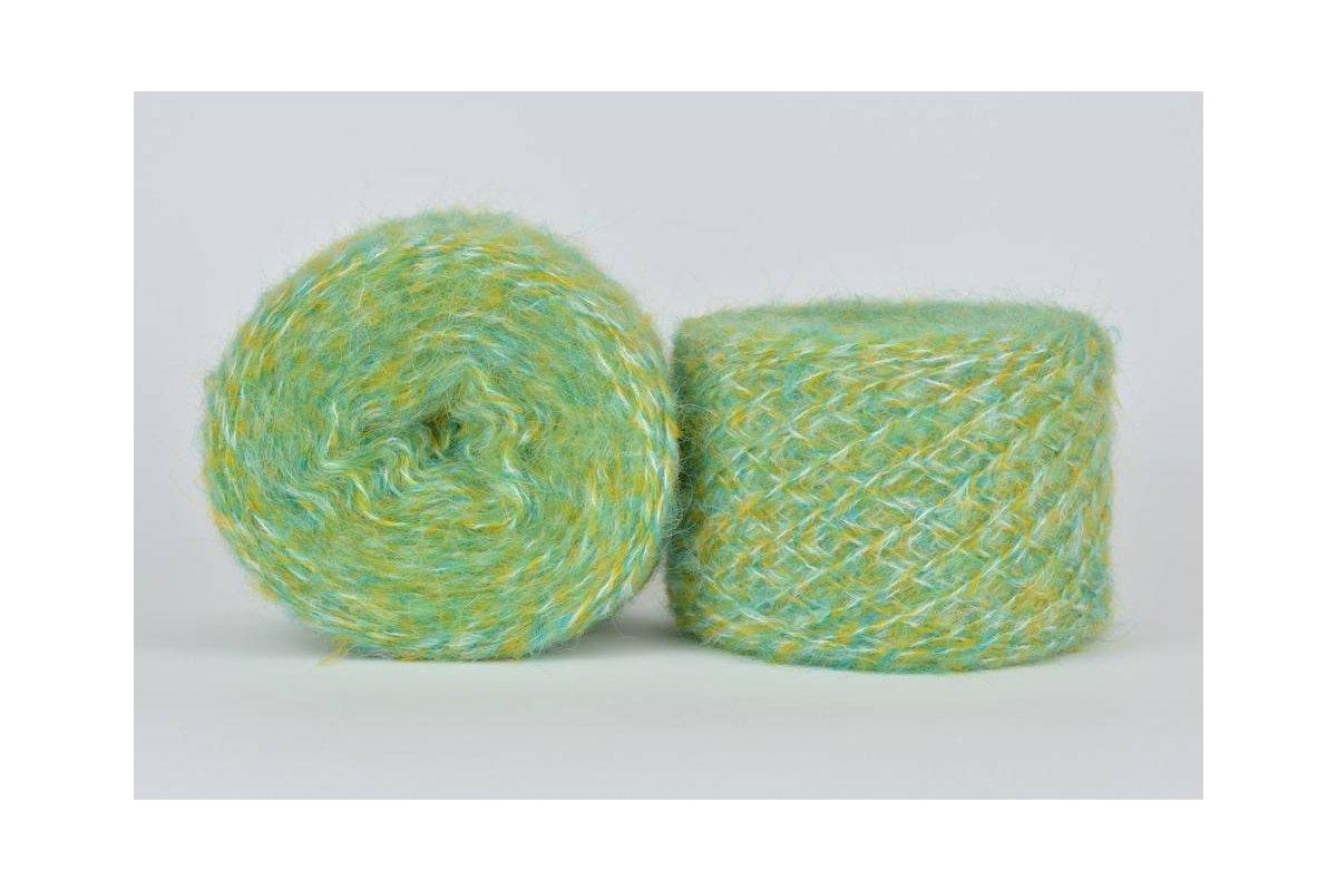 Liloppi Hippie - 1121  zielony/żółty/kremowy