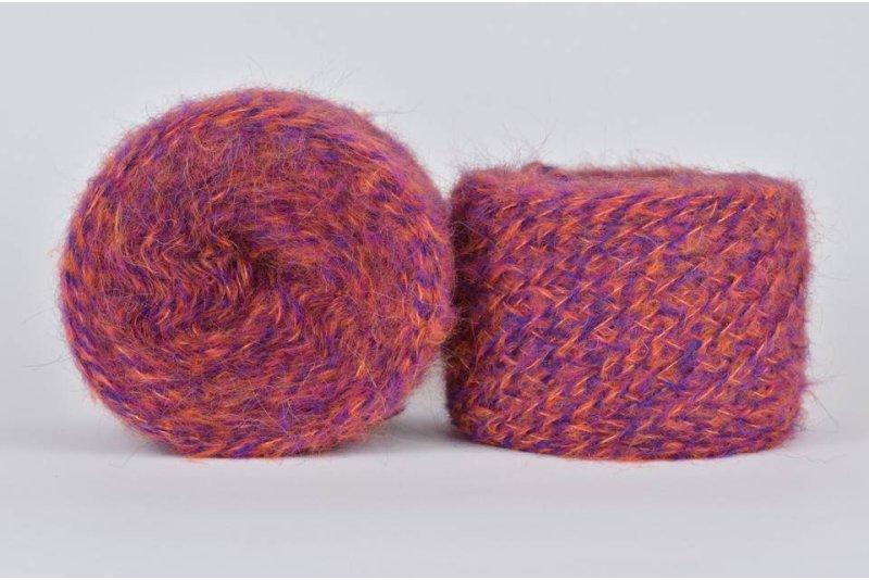 Liloppi Hippie - 1120  fiolet/pomarańcz