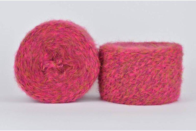 Liloppi Hippie - 1119  pink/fiolet/musztarda