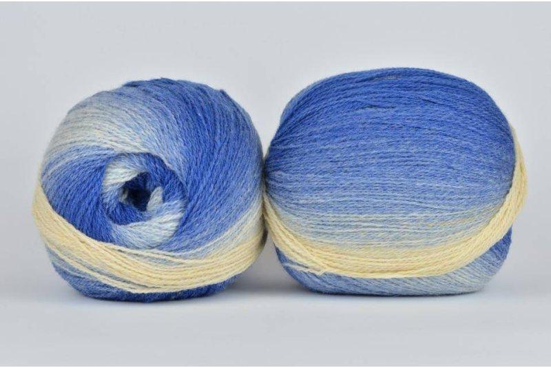 Wool Jazz Artistic - 008 niebiańska