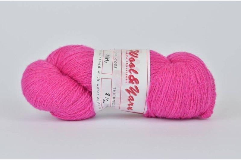 Wełna estońska 8/2 pink (70m) - 105g