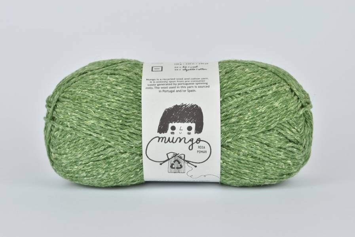 Rosa Pomar MUNGO - zielona 006