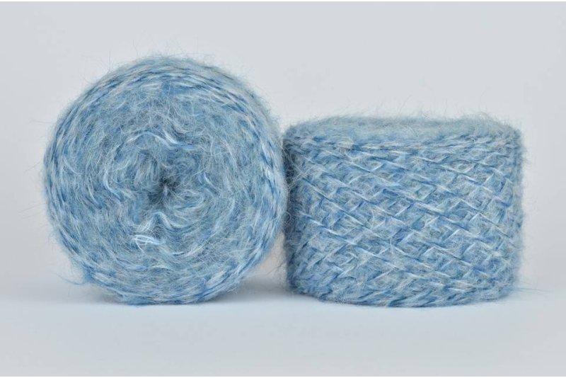 Liloppi Hippie - 1127 niebieski/błękit/biały