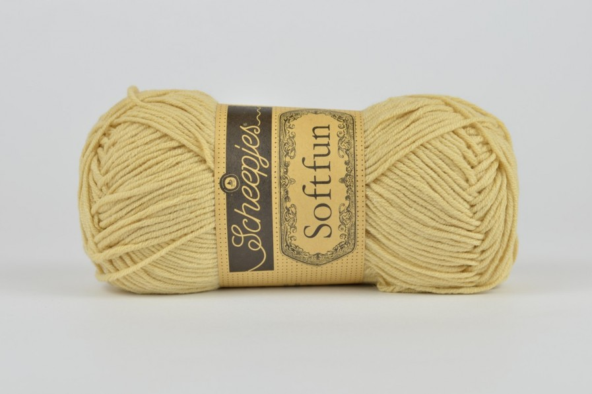 Scheepjes Softfun - 2632 Tortilla