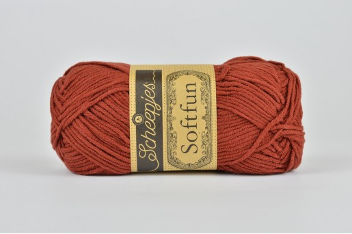 Scheepjes Softfun - 2650 Rust