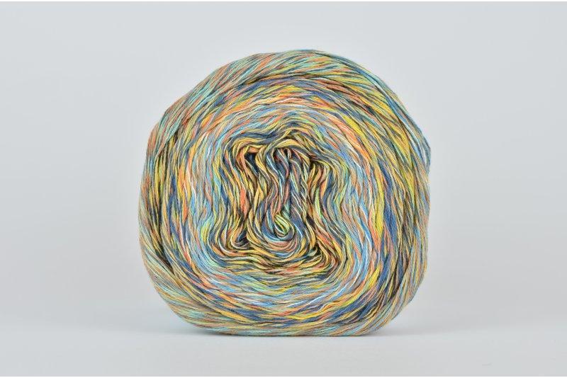 Katia Funny Rainbow - 102 (pomarańcz/żółty/beżowy/turkus/granat)