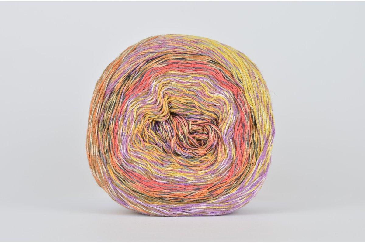 Katia Funny Rainbow - 101 (lila/pomarańcz/żółty/koral)