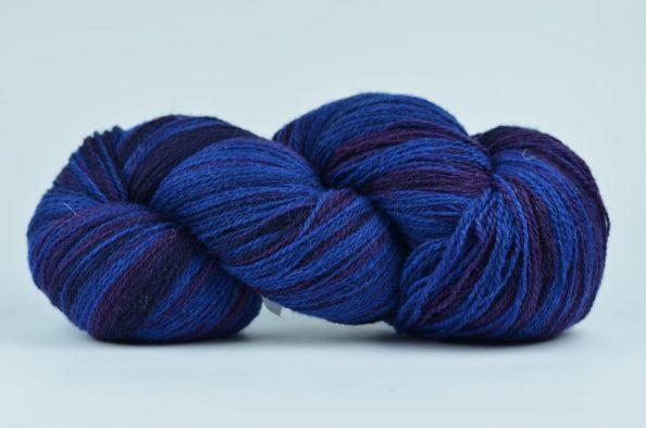 Wełna estońska 8/2 – BLUE/PURPLE