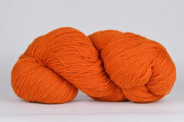 Wełna Estońska Solid Yarn Pomarańczowa