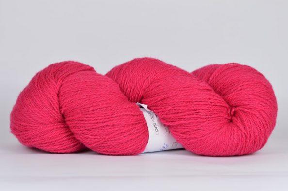 Wełna Estońska Solid Yarn Pink