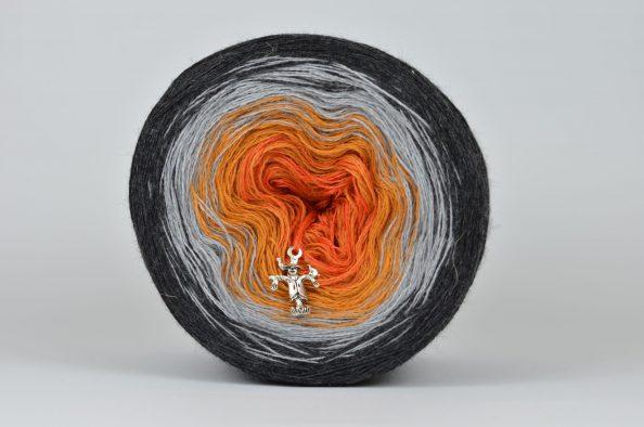 Włóczka Liloppi Swing - 3 nitki - GOBLET OF FIRE (158)