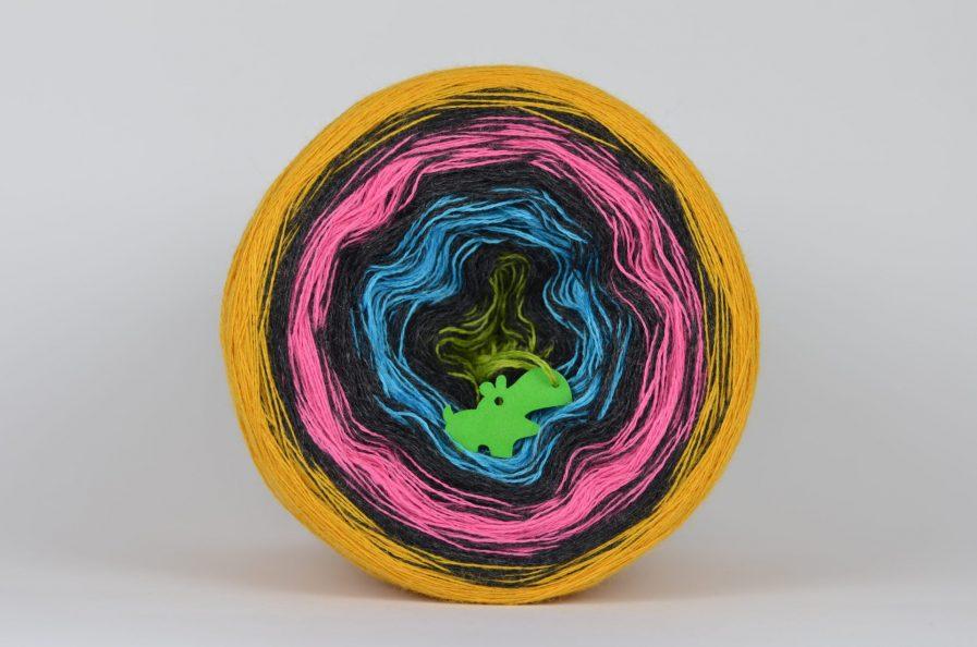 Włóczka Liloppi Swing Rainbow R106