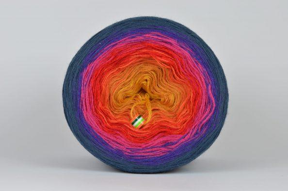 Włóczka Liloppi Swing Rainbow R101