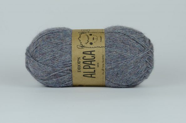 DROPS Alpaca - 8120 dżins/zielony