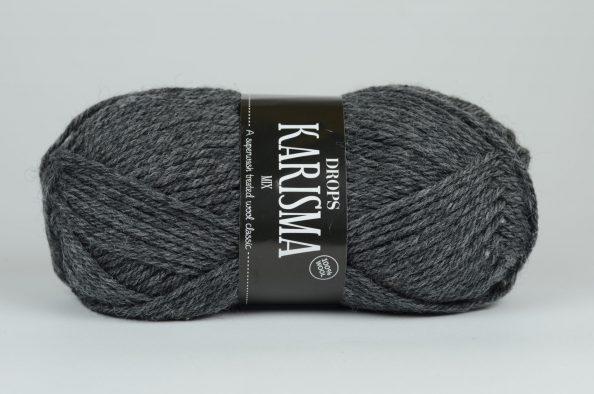 DROPS Karisma - 16 ciemny szary