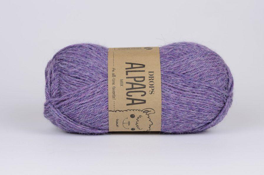 DROPS Alpaca - 4434 liliowy/fioletowy