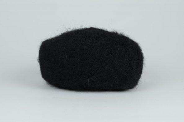 DROPS Brushed Alpaca Silk - 16 czarny