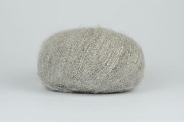 DROPS Brushed Alpaca Silk - 02 jasny szary