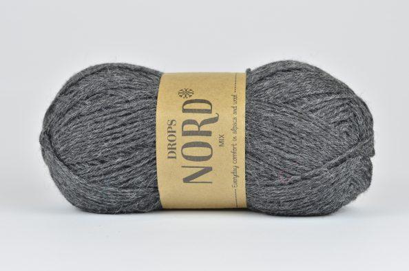 DROPS Nord - 06 ciemny szary
