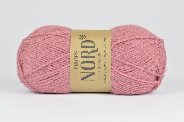 DROPS Nord - 15 stary róż