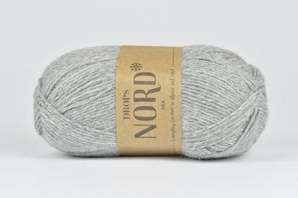 DROPS Nord - 04 jasny szary