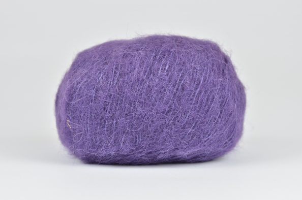 DROPS Brushed Alpaca Silk - 10 fioletowy
